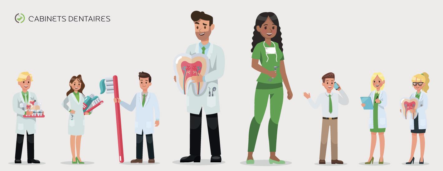 Chirurgien dentiste salarié
