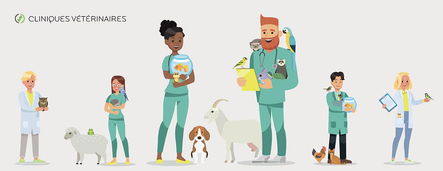 Vétérinaire salarié